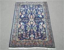 Handmade Persian Mashhad 3.4x6.4