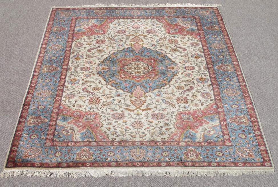 Very Beautiful Semi Antique Persian Tabriz 10x6.9