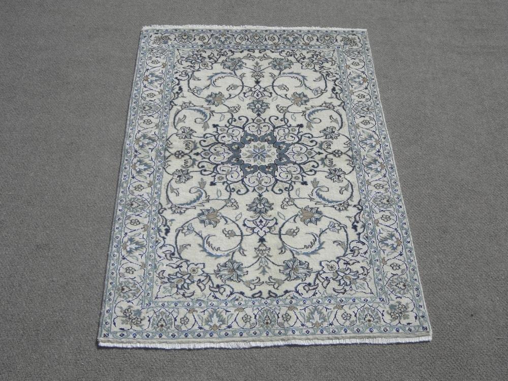 Authentic Part Silk Persian Nain 6.8x3.10
