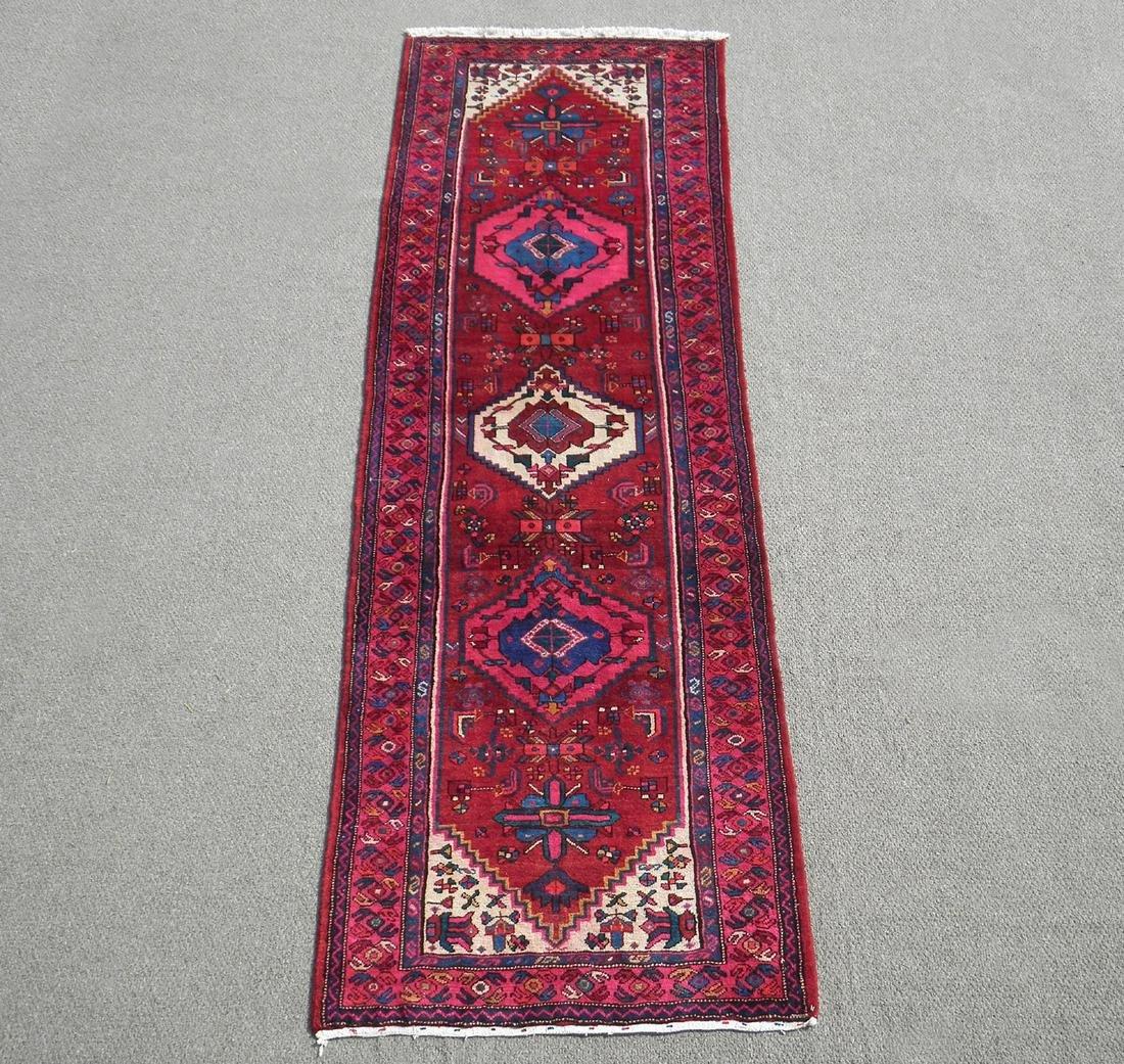Semi Antique Persian Hamadan 3.6x10.4