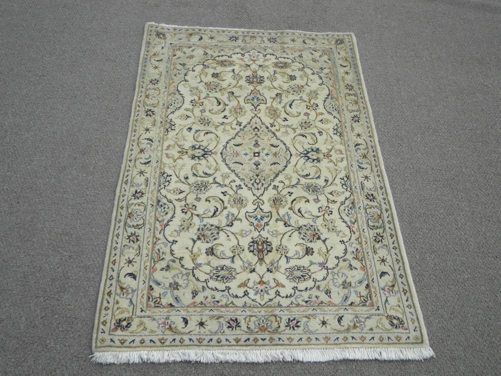 Handmade Persian Kashan 3.3 x5.0