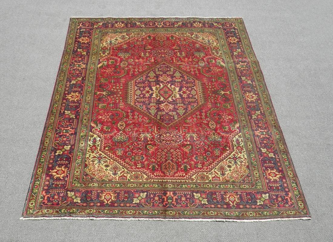 Very Beautiful Semi Antique Persian Tabriz 9.3x6.8