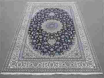 Phenomenal Fine Kork and Silk 6-LA Persian Nain
