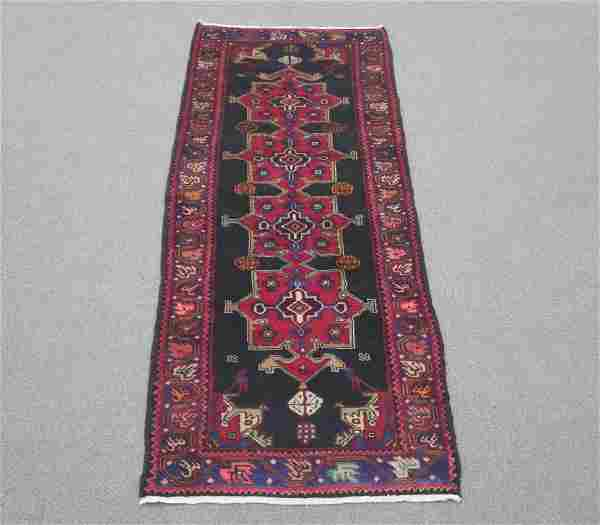 Semi Antique Persian Kurdish 9.9x3.7