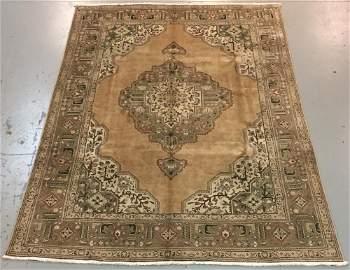Handmade Persian Tabriz 8.3x11.3