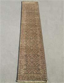 Handmade Indo Herati Design 2.6x11.10