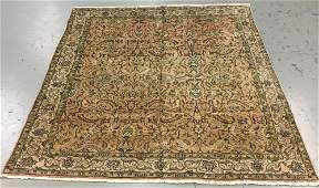 Handmade Semi Antique Persian Tabriz 91x109