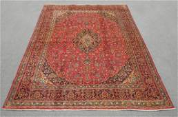 Spectacular Semi Antique Persian Kashan 13.0x9.5