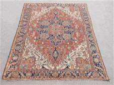 Extremely Rare and Kind Antique Persian Serapi Rug