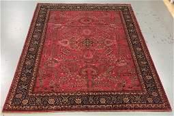 Handmade Indo Sarouk 9.9x13.11