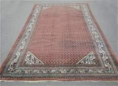 Semi Antique Persian Sarouk Mir 7.0x10.6