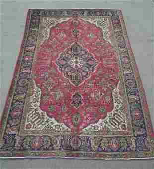 Semi Antique Persian Tabriz 10.5x6.10