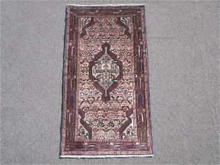 Semi Antique Persian Hamedan 2.3x4.6