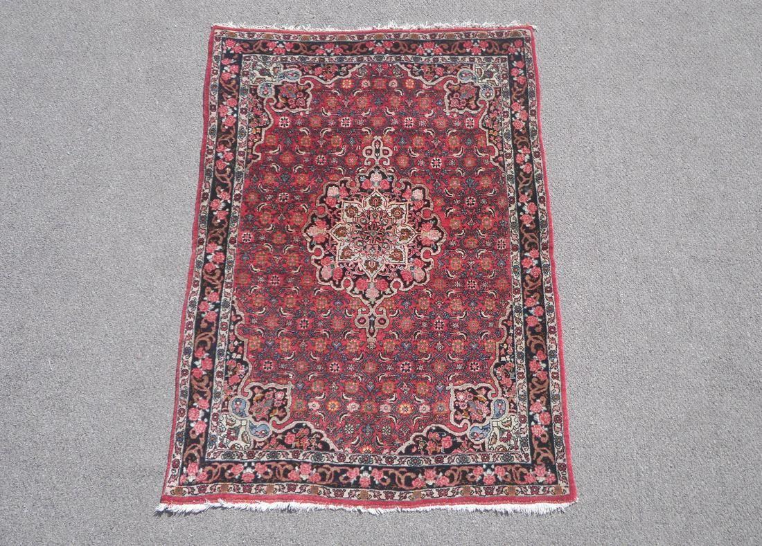 Antique Persian Bidjar 3.4x5.1