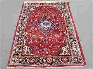 Simply Beautiful Semi Antique Persian Mahal 7.2x10.7