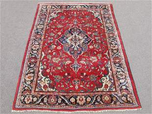 Simply Beautiful Semi Antique Persian Mahal 7.2x10.7