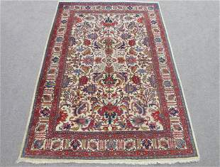 Spectacular Handmade Semi Antique Allover Persian