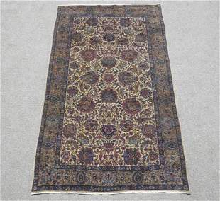 Absolutely Fascinating Antique Persian Kerman 3.9x6.9