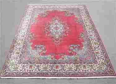 Semi Antique Persian Kerman 9.1x11.9