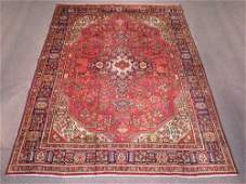 Semi Antique Heriz Design Persian Tabriz 11.0x8.2