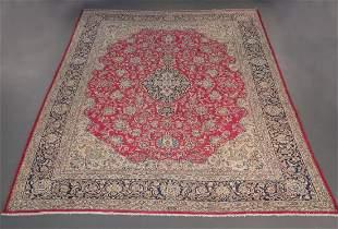 Handmade Persian Kerman 9.10x13.1
