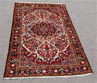 Highly Detailed Hand Woven Persian Lilian 5.4x8.3