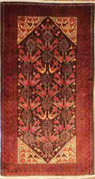 Authentic Persian Baluchi 6.9x3.7