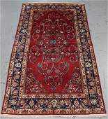 Handmade Semi Antique Persian Kashan 5.7x10.11