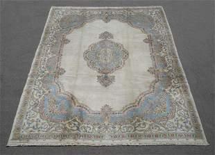 Pardis (Palace) Design Semi Antique Persian Kerman