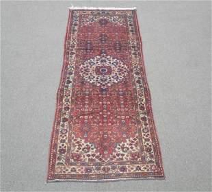 Semi Antique Persian Hosseinabad 3.6x9.11