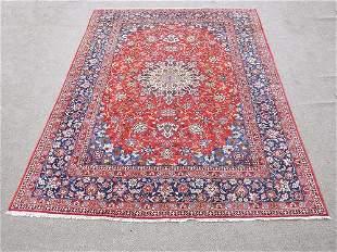 Charming and Colorful Hand woven Persian Najafabad Rug