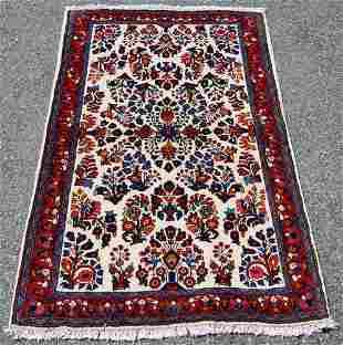 Finely Done Elegant Design Persian Sarouk 5.2x3.2
