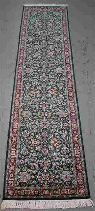 Handmade Persian Design Runner 2.6x12.1