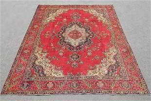 Stunning Semi Antique Persian Tabriz 12.6x9.3