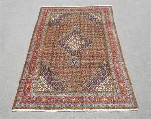 Superb Detailed Semi Antique Persian Bijar 9.8x6.4
