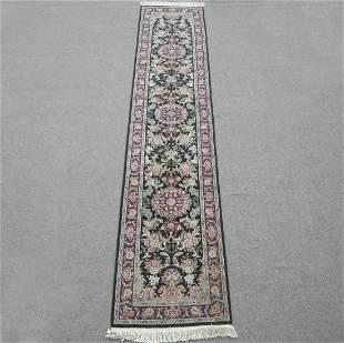 Azerbaijani Wool/Silk Tabriz Design 2.3x12.0