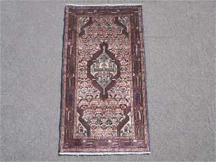 Semi Antique Persian Hamedan 2.3x4.6