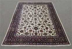 Unique Wool/Silk Allover Persian Tabriz 13.1x9.9