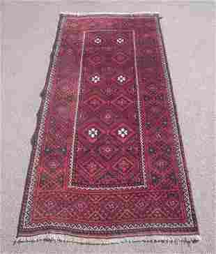 Afghan Turkman Design 3.4x6.8