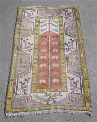 Semi Antique Shirvan Design 3.3x5.1