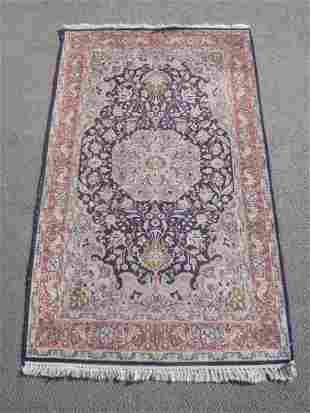 Handmade Wool/Silk Tabriz Design 3.2x5.3