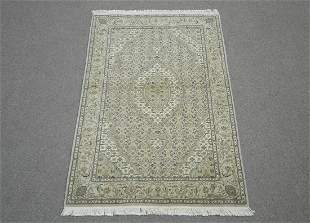 Part Silk Persian Tabriz Design 3.9x5.9