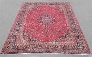 Gorgeous Semi Antique Persian Mashhad 12.2x9.6
