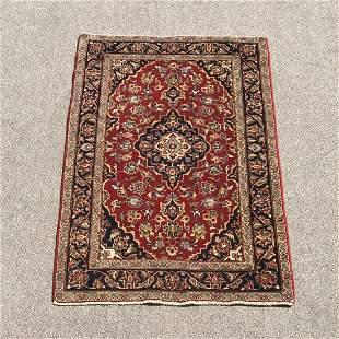 Semi Antique Persian Kashan 2.11x5.1
