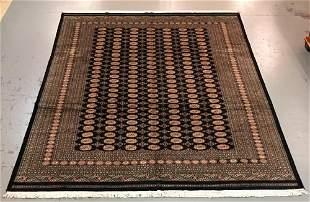 Handmade Pakistani Bokhara 10.5x13.8