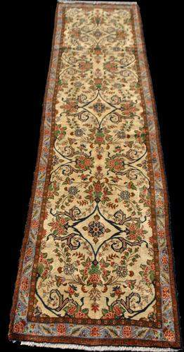 Floral Persian Bidjar 12.6x3.1