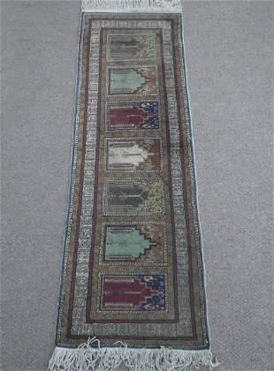 Handmade Pakistani Runner 1.11x5.7