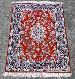 Gorgeously Designed Masterpiece Persian Isfahan 3.7x5.3
