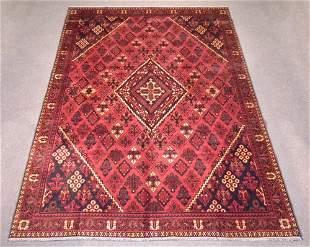Handmade Semi Antique Persian Maymeh 10.5x7.3