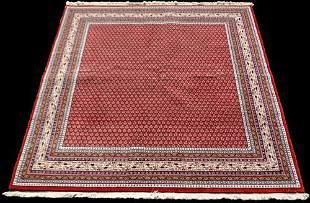Fascinating Handmade Indo Sarouk Design 7.11x6.5